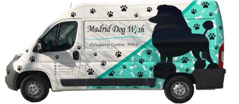Madrid Dog Wash furgoneta peluqueria canina movil